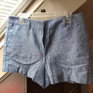 Loft chambray shorts